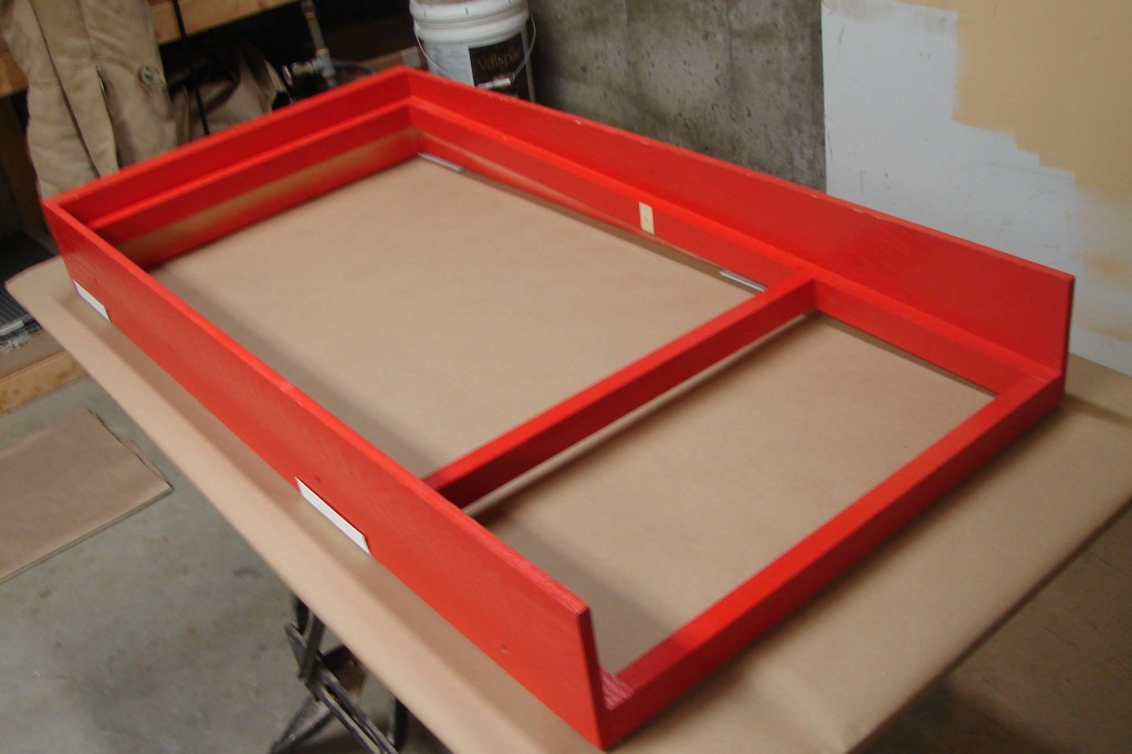 worm siftintg screen frame
